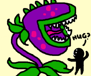 Hug the chompers