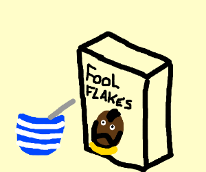 I have some Mr. T cereal?