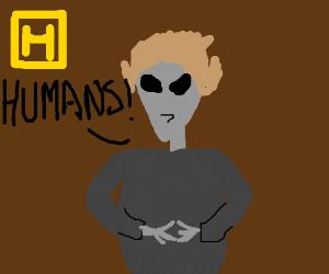 Giorgio A. Tsoukalos is an alien