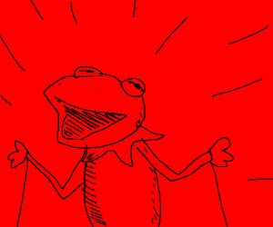 Red Kermit. RED KERMIT!!!