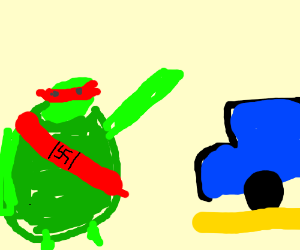 TMNT joins fascist party for Good parking