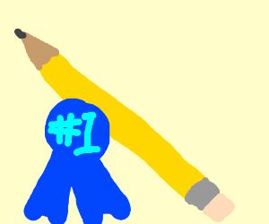 Wow!!! Look at that pencil! What a nice pencil