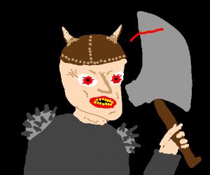 Viking wield the mighty axe DRAFT w/ Alto