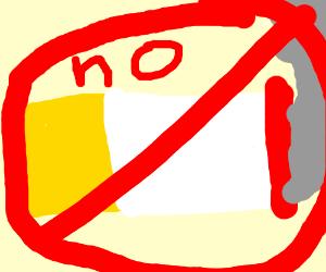 Say no to smoking.