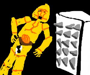 C3PO as a crash-test dummy