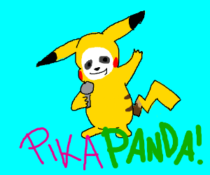 Latest sensational asian pop-star. Pikapanda!