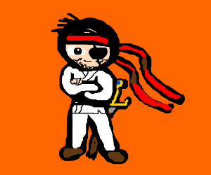 Ryu is now a happy pirate