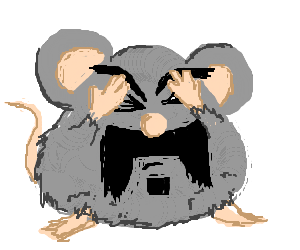 Hand and Head are reunited by a helpful mouse