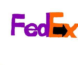 There IS an arrow in the FedEx logo!