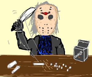Jason Chopping up Chalk