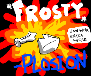 New Formula: Frostyplosion! With Extra Sugar!