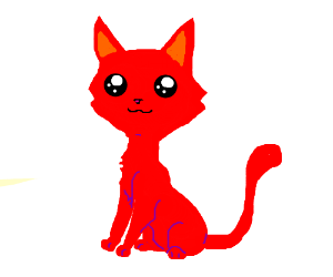 Adorable Red Kitty Cat