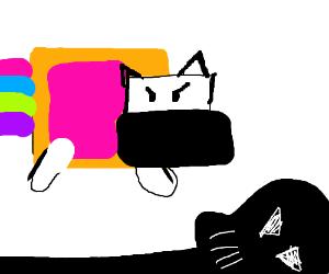 Nyan Cat Defeats Darth Vader