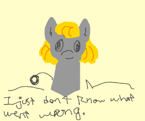 Derpy Hooves is a Chatty Cathy