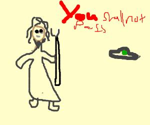 Gandalf decrees that UFO shall not pass.