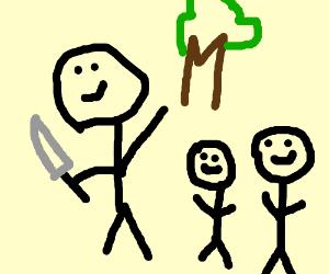 murderer enjoys a family outing