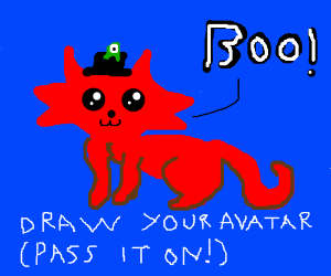 Draw your avatar and pass it on!