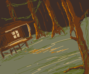 A house on a swampy bayou