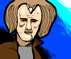 Nic Cage's hair's a bird; pretzel query moot.