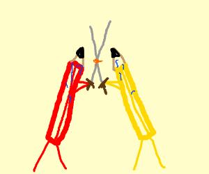 Pencil Duel