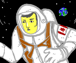 Canadian lost in space