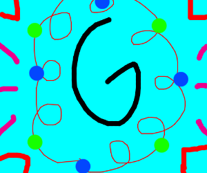 G (with decoration and 80s background)