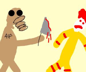 Alf goes on a mascot murdering spree.