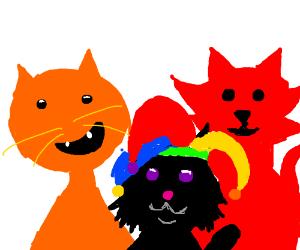 AMS, Yntec and Datgirl88 - DC's kitties!