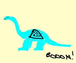 Liquid explosive dinosaurs