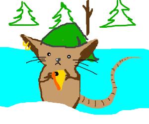 Ice bank, mice elf.