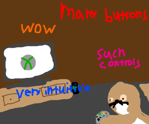 Xbox intuitive enough for seal doge