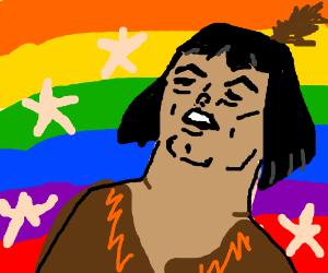 Hey-ey-yah He-Man is now Native American.