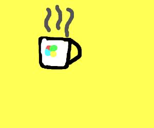 cup of windows coffee