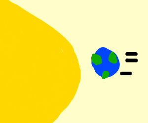The Earth is closely approaching the Sun!
