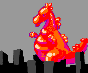 Attack of the 50ft Gummyzilla.