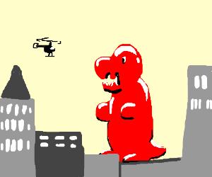 Gummy Godzilla