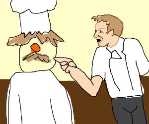 Chef Ramsay berates Swedish Chef