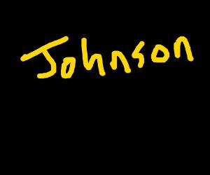 A Johnson in the dark
