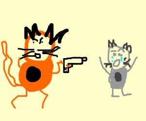 Nyan cat hunger games
