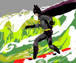 Batman takes a long overdue vacation.
