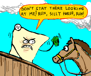 Panel #12 loves betting on horse races