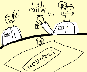 DC vets play Monopoly
