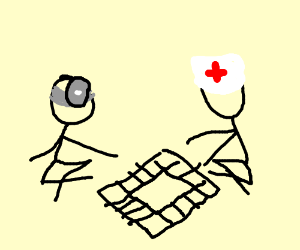 Doctors playing monopoly