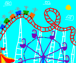 One forking good amusement park.