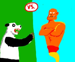 Vicious Panda Bear VS Evil Orange Genie