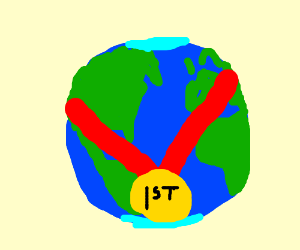 first of the world medal