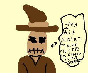 Unhappy Scarecrow