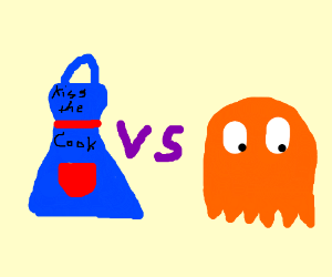 Apron vs. pacman ghost