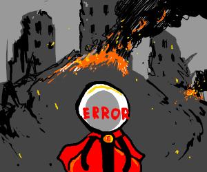 Errorman erred in protecting city.