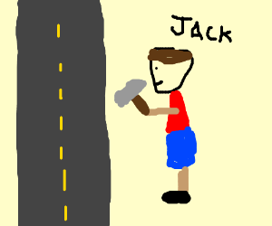 Hit the road, Jack.